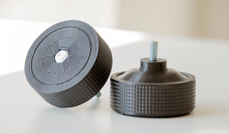 3D printed replacement part for turntable